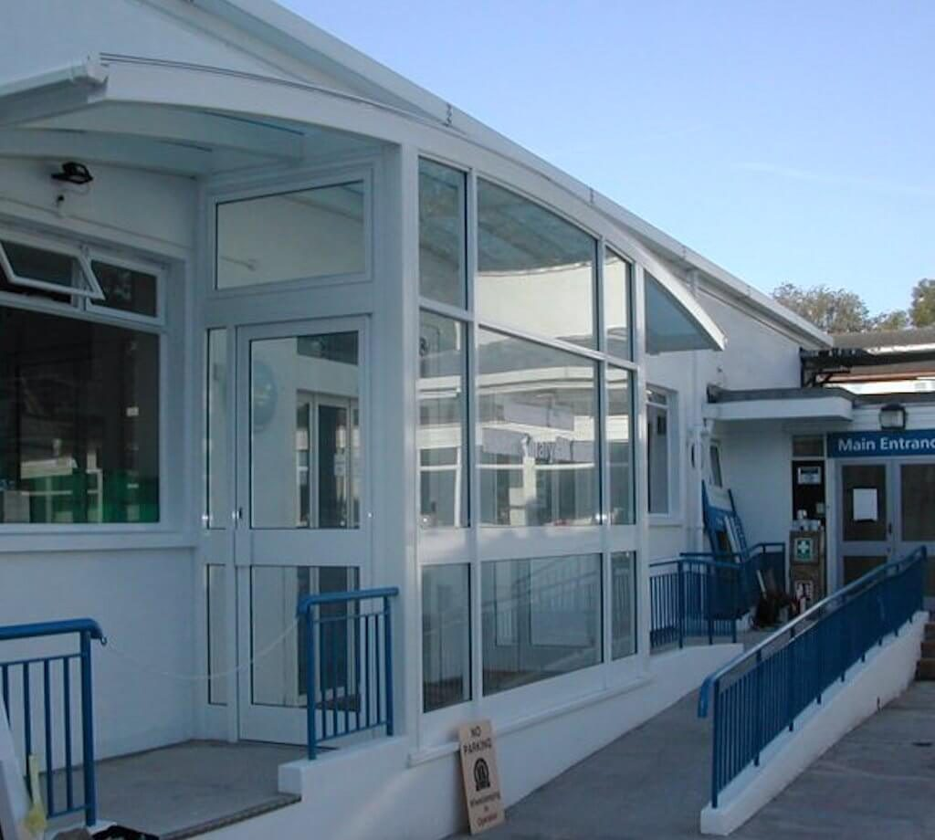 Haemodialysis Unit Main Entrance - Epsom and St Helier NHS (a Healthcare sector project)