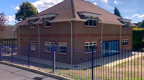 Education sector building project for Ashcombe School Dorking