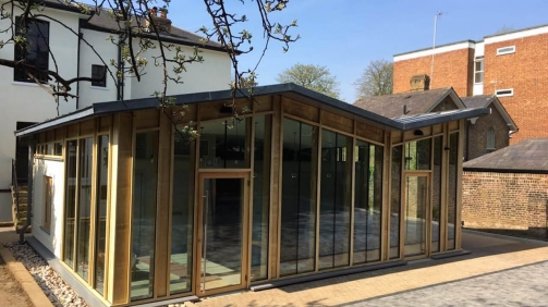 Veterinary Clinic in Surbiton (Private construction contract)