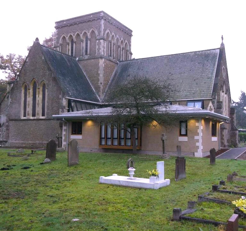 Ecclesiastical project for Holy Trinity and Longcross Church, Chertsey