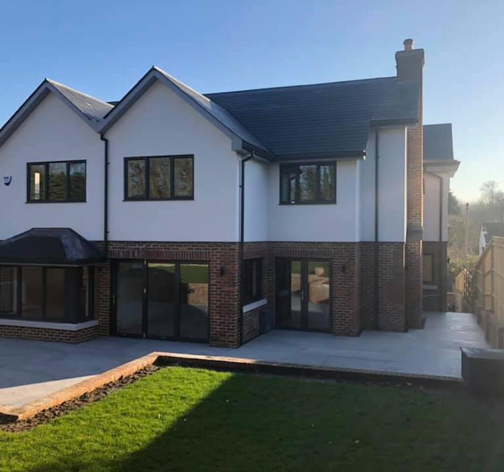 Private construction contract at Julian Road Orpington new build