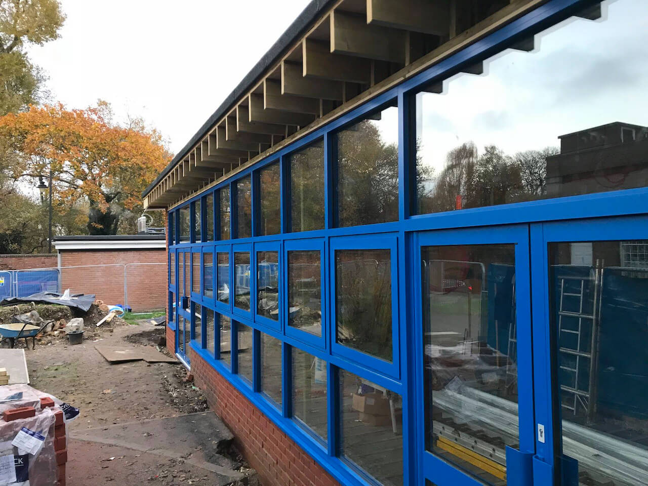 Education sector building project for St Mary's Junior School Carshalton